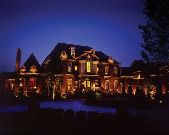 How to make an elegant home even more elegant -- architectural lighting of course!