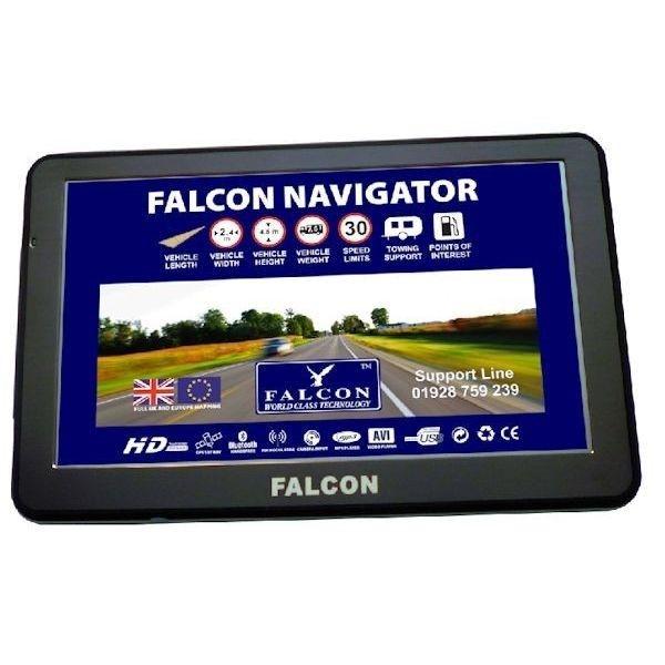 Product - Falcon Navigator 7″ Sat Nav for Motorhome, Caravan or RV