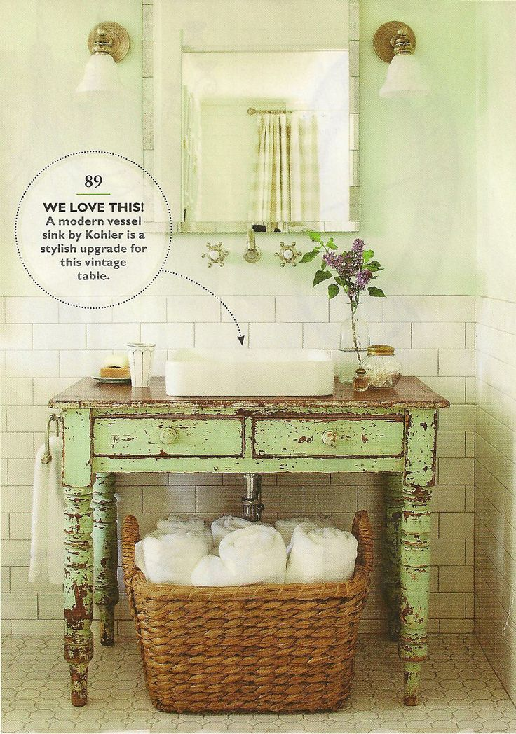 Rustic Bathroom Idea This Vanity Almost Identical To Ours