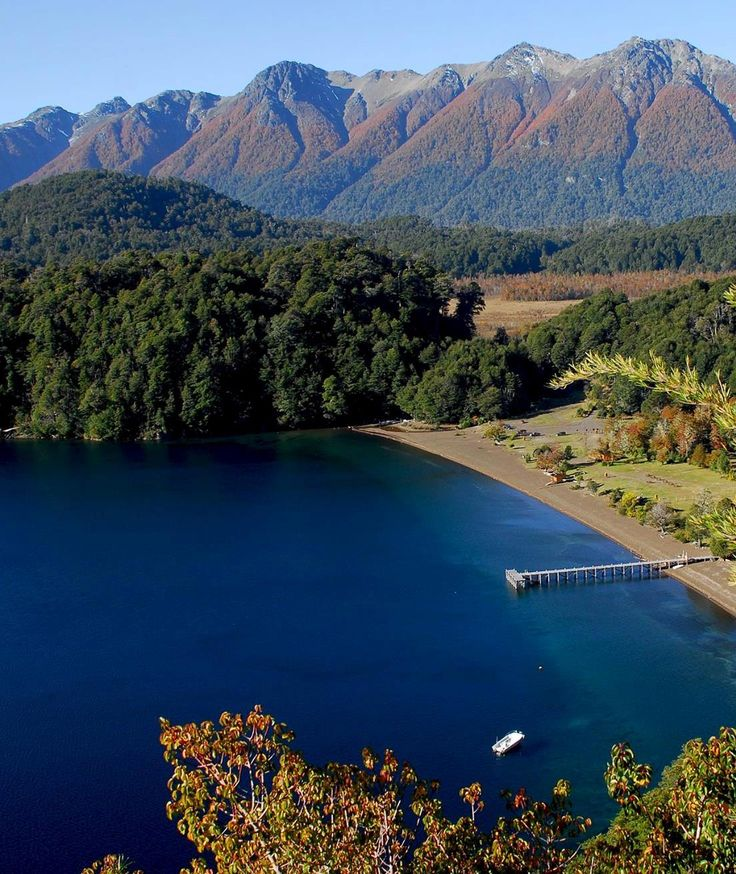 Lago Espejo. Argentina