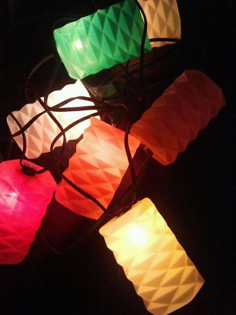 Vintage Retro Patio Lanterns Works Perfect By TheGuildedNest, $17.99