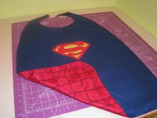 I am sure I will be making a few of these again, with two grandsons. Superhero Cape, Mask and Wristlets