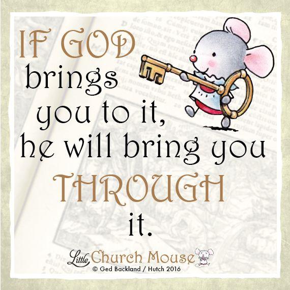 (2) God bless #LittleChurchMouse - Little Church Mouse
