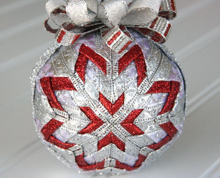 801 best images about Deco de Noel on Pinterest | Handmade ... : quilt ornaments - Adamdwight.com
