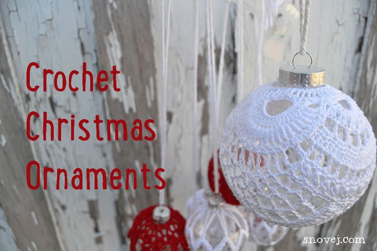 Freeform Crochet Ornament Pattern