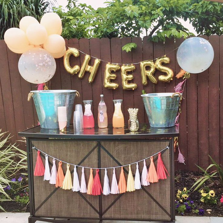 Baby Shower Gifts House Of Fraser ~ Mimosa bar cheers ohhappyday confetti