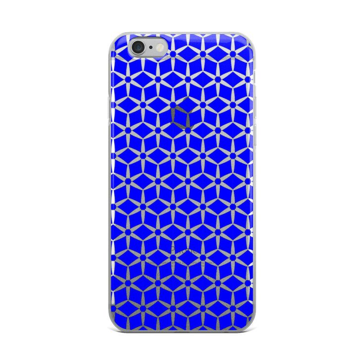 Excited to share the latest addition to my #etsy shop: Blue Pattern iPhone X Case   Repetitive Pattern iPhone case   Colorful iPhone 6 case   Trendy iPhone 7 case   Geometry iPhone 8 case   TPU http://etsy.me/2CD5S9J #accessories #case #cellphone #iphonexcase #repetiti