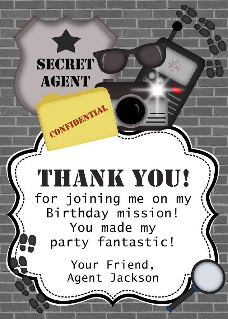 7 best Secret Agent Parties images on Pinterest | Secret agent party ...