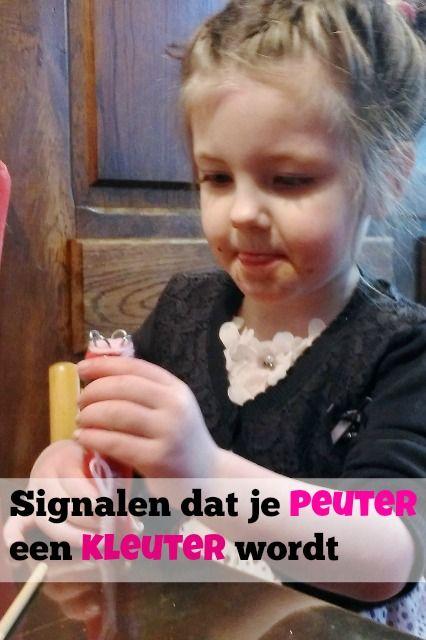 Signalen en gedrag dat je peuter een kleuter aan het worden is - Mamaliefde.nl