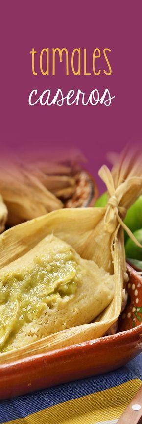 Si te gustan los tamales, pero crees que son muy complicados de hacer, prepara esta receta de tamales caseros con pollo y salsa verde. Puedes hacerlos con distintos rellenos y salsas. ¡Seguro te chuparás los dedos!