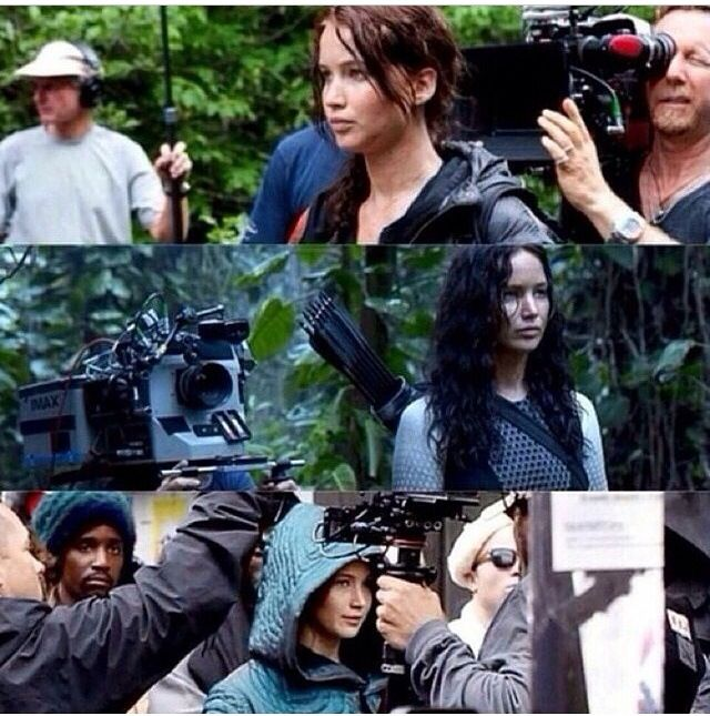 Behind the scenes of Hunger Games, Catching Fire and Mockingjay
