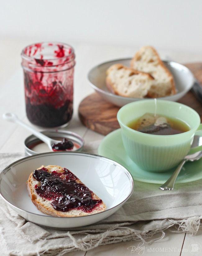 Rew Elliott: Cooking What the Garden Grew: How to Make Seedless Blackberry Jam (No Pectin)