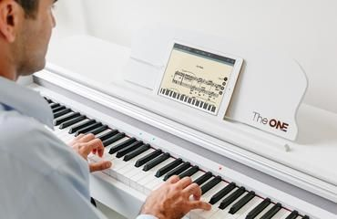 The One Smart Piano 61Key Portable Light Keyboard