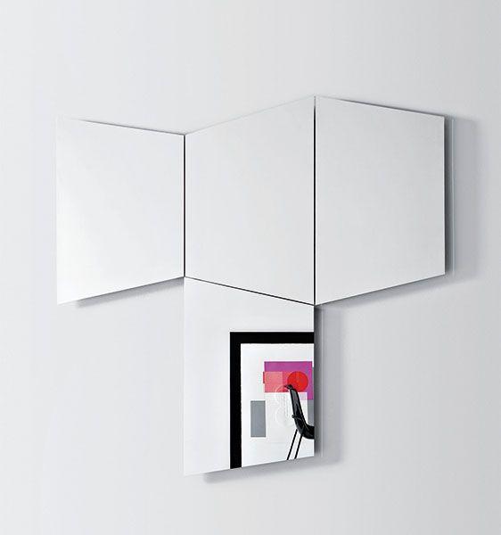 GEOMETRIKA specchio trapezoidale | Trapezoidal mirror | by PIANCA | www.pianca.com