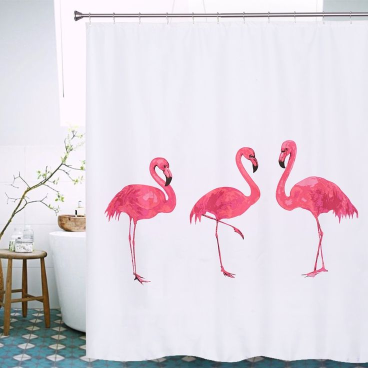 #bonanza – Flamingo Duschvorhänge   – Me