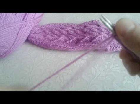2 şişle dikişsiz çorap 2.bölüm - YouTube