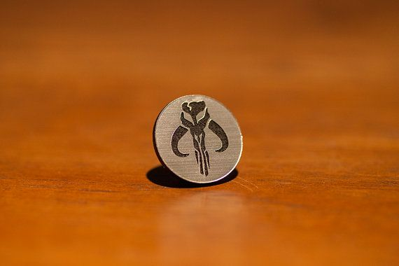 Star Wars Pin Mandaloriano muerte mercenaria ver por interstait