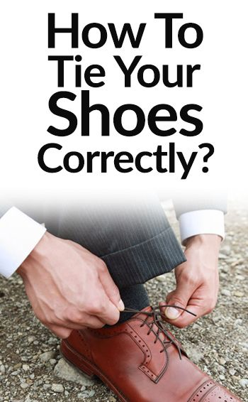 One Simple Trick To Tying Dress Shoe Laces Correctly