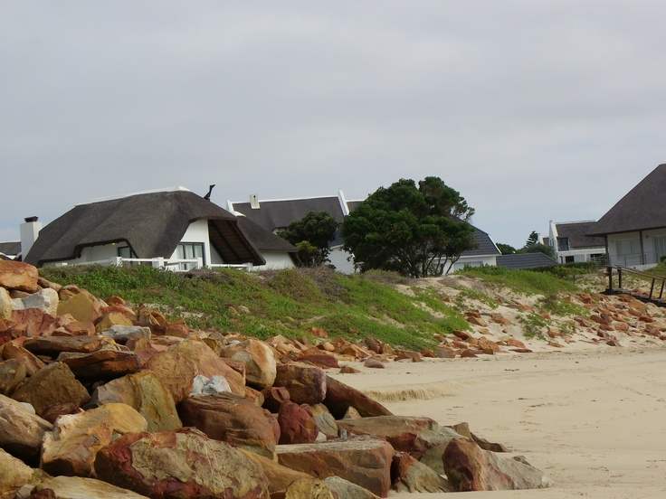 Thatched cottages at St Francis Bay