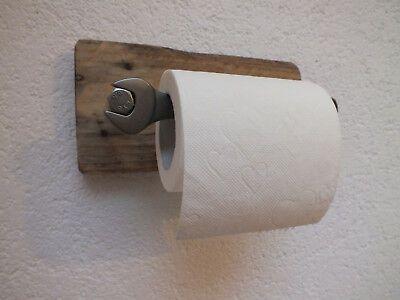 Finden Sie Top-Angebote für Toilettenpapierhalter Klopapierhalter Rustikal Indu…