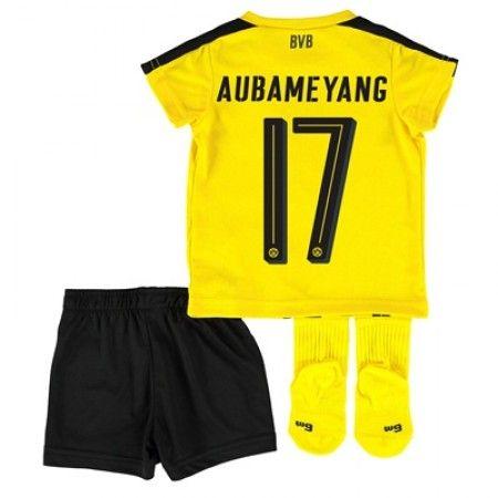 Dortmund Trøje Børn 16-17 Pierre #Aubameyang 17 Hjemmebanesæt Kort ærmer.199,62KR.shirtshopservice@gmail.com