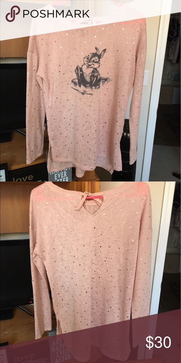 Lauren Conrad Bambi Shirt Never worn! LC Lauren Conrad Tops