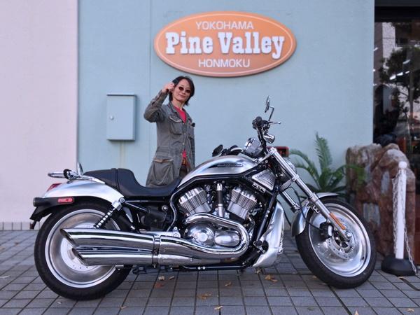 2012年9月30日ご来店  Harley V-ROD