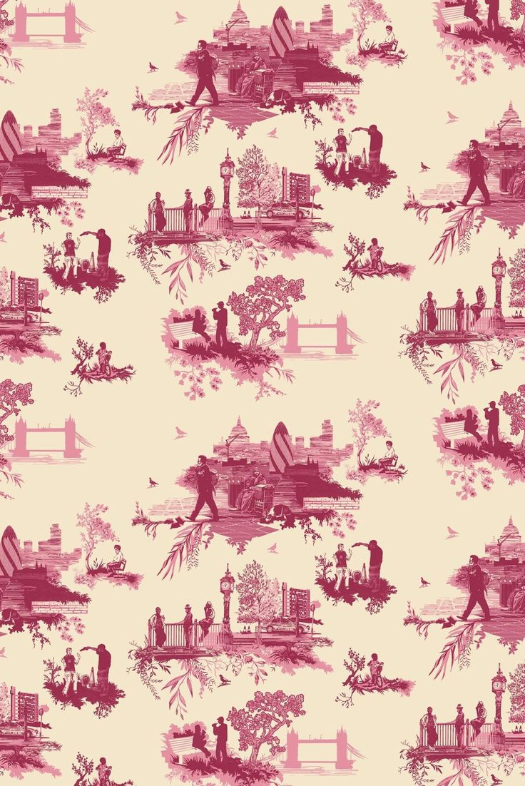 Timorous Beasties Wallcoverings - Showing us that toile-de-joues could be contemporary.