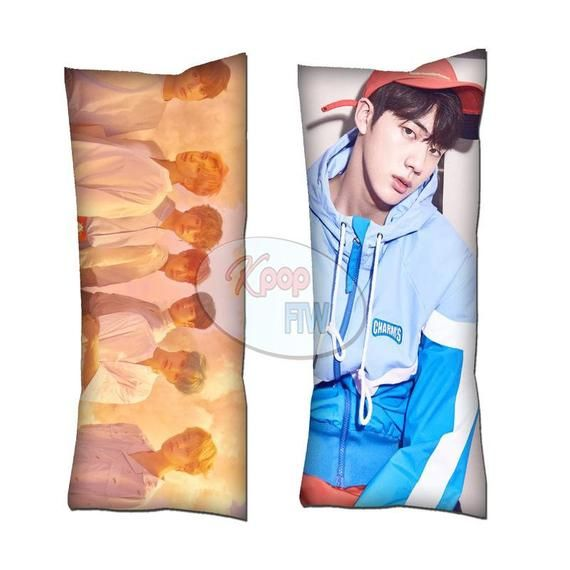 Kpop BTS Boy With Luv Suga Body Pillow