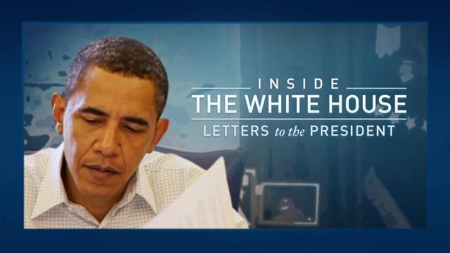 "Inside the White House: Letters to the President by The White House. Every day, President Obama reads ten letters from the public in order to stay in tune with America's issues and concerns. ""Letters to the President"" is an exclusive behind-the-scenes look at the process of how those ten letters make it to the President's desk from among the tens of thousands of letters, faxes, and e-mails  that flood the White House each day."