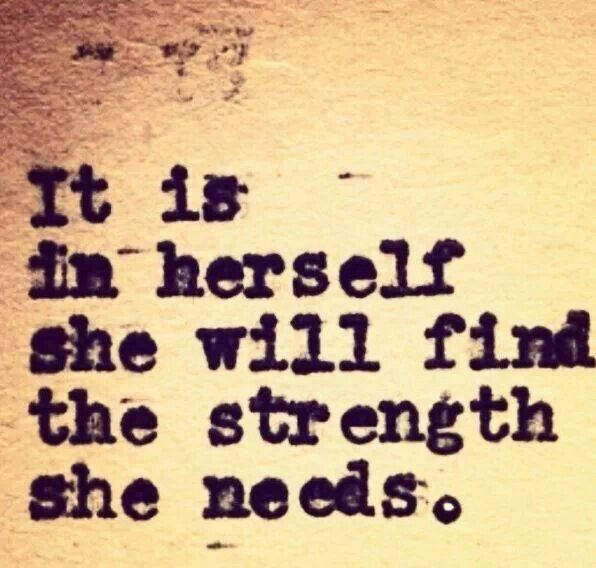 Finding Inner Strength Quotes: Inner Strength Quote