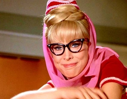 And Barbara eden as jeannie theme, very