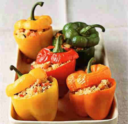 Bell peppers or sweet pepper is a cultivar group of the species Capsicum annuum (chili pepper). While the bell pepper is a member of the Capsicum family