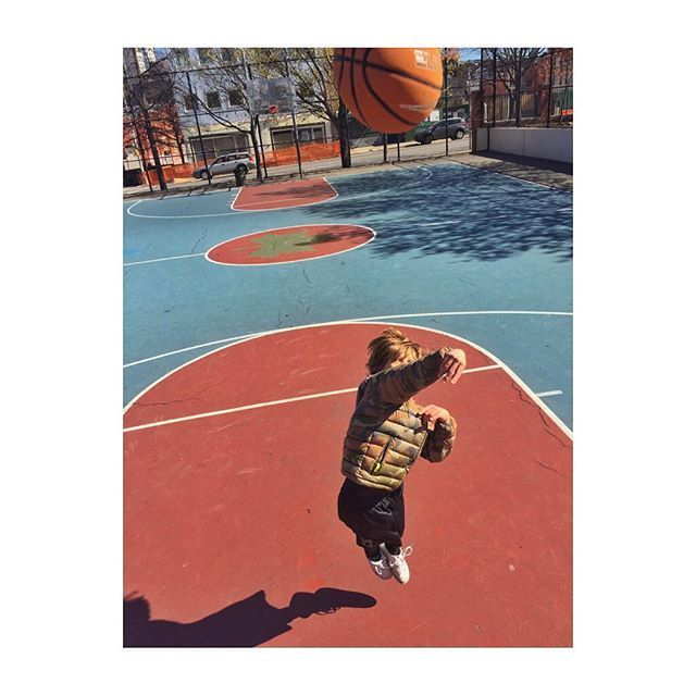 My son relieving some stress and energy before the @warriors vs @spurs game tonight.  He is a die hard Golden State fan but told me he has a bad feeling for tonight... I told him what matters was the championship.