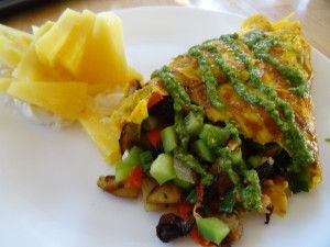 Fabulous healthy omelette. Make it from free range chicken eggs to give it the best taste.