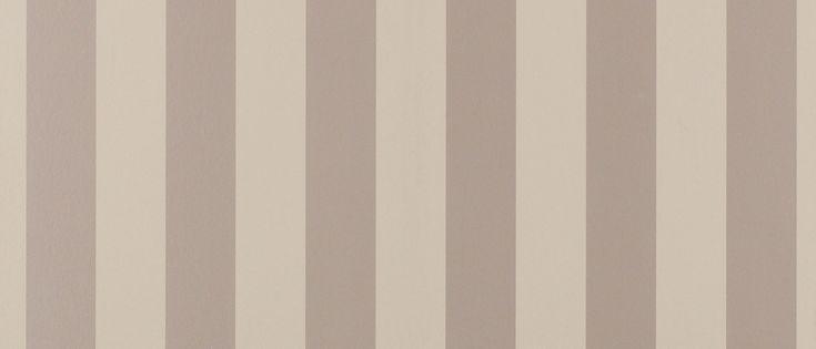 Lille Truffle Stripe Wallpaper at Laura Ashley