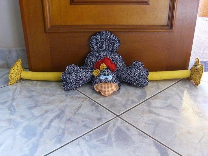 ARTESANATO COM QUIANE - Paps,Moldes,E.V.A,Feltro,Costuras,Fofuchas 3D: moldes galinha peso de porta