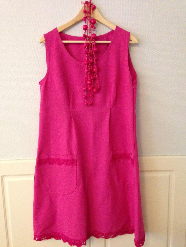 Viides mekkoni on Aniliini. Aina ihana. Aarre. aina käy mekko. ensikerran laitan sen päälleni kolmannen lastenlapseni ristiäisiin