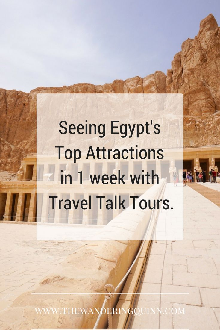 I saw so much of Egypt in 1 week with Travel Talk Tours! Here's what we got up to!