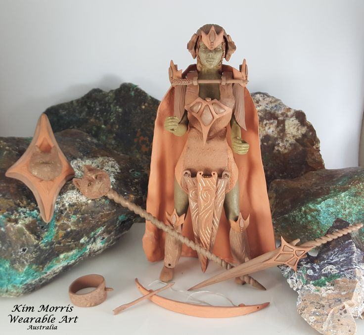 Aussie Metal Clay by Kim Booklass  hand sculpted wearable art  ready for the kiln