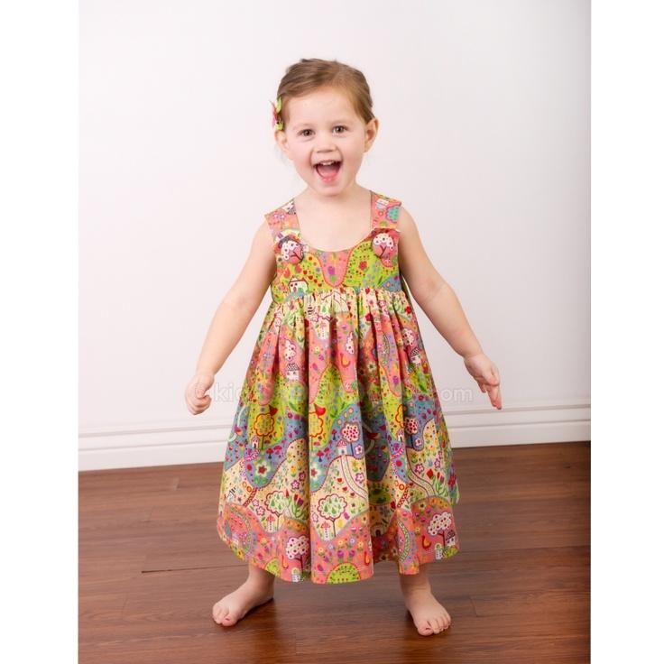Jelly the pug dresses for little girls