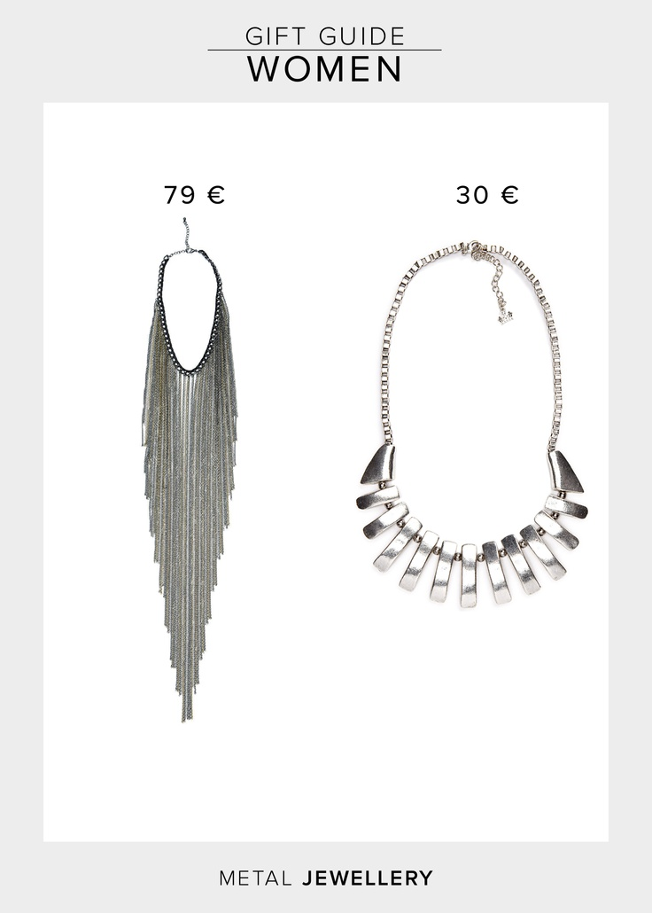 2Nd Day Motion Necklace  79.00 €  http://www.boozt.com/r/2nd-day/2nd-motion_815344/815345    Friis & Company Usita Necklace  29.95 €  http://www.boozt.com/r/friis-company/usita-necklace_895380/895381
