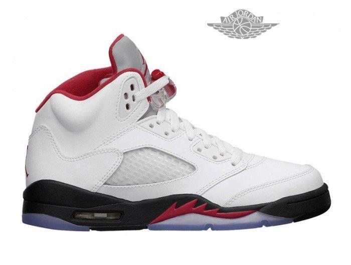 62eea5bfe61 ... Air Jordan 5 Retro - Basket Jordan En Ligne Chaussure Pour Femme Air  Jordan 5 Retro ...