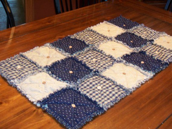 Primitive Table Runner Country Homespun by KristinsCountryHome
