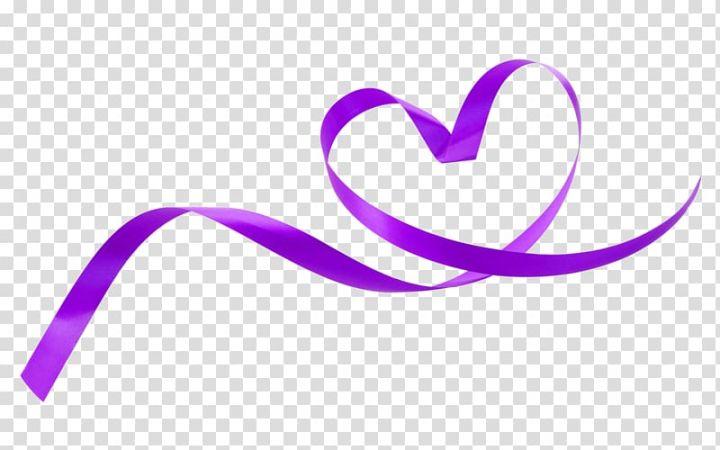 Purple Ribbon Purple Fresh Love Ribbon With Decorative Patterns Transparent Background Png Clipart Purple Ribbon Clip Art Transparent Background