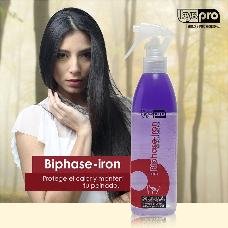 ¿Usas mucho el secador y la plancha? Este producto es ideal para ti, evita el frizz y mantiene el peinado.