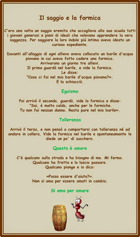 Francesca Ceccherini: testi e immagini di psicologia, sociale, religione, poesia, narrativa: LA FORMICA E IL SAGGIO