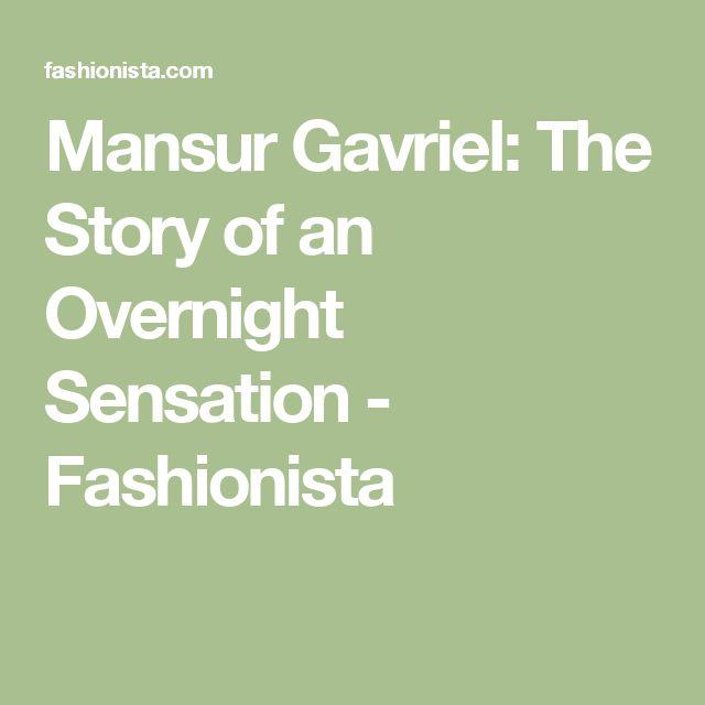 Mansur Gavriel: The Story of an Overnight Sensation - Fashionista