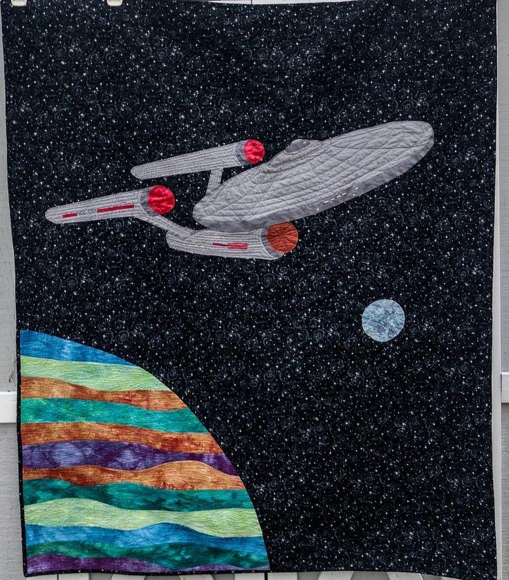 Star Trek Art Quilt