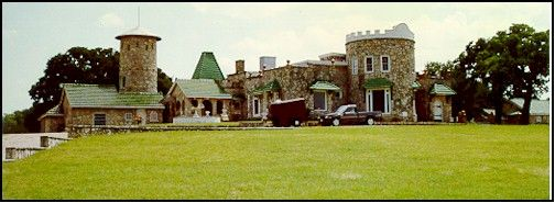 WHITING CASTLE/ LAKE WORTH CASTLE/ CASTLE OF HERON BAY  Texas Castle